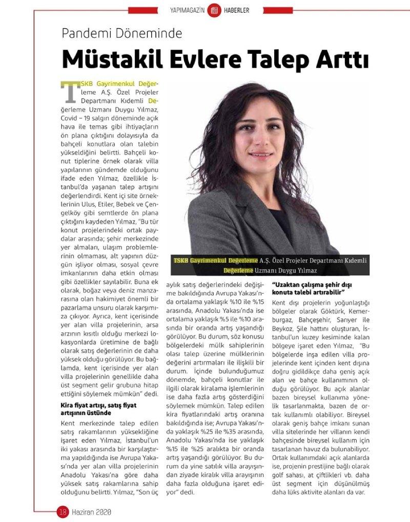 2020_06_01_Yapı Magazin_Müstakil Evlere Talep Artti_95918829_(1)